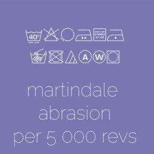 Martindale Abrasion  per 5 000 revs