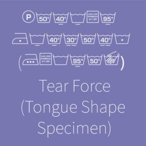 Tear Force – Tongue-Shaped specimen