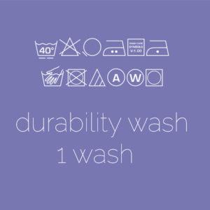 Durability Wash (1 wash)