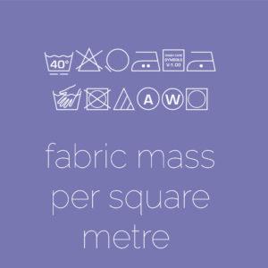 Fabric Mass Per Square Meter