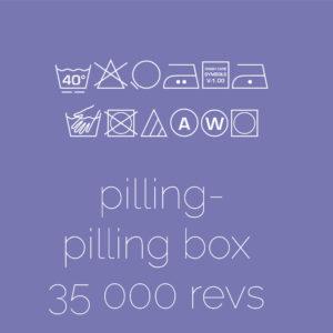 Pilling -Pillbox Method  per 35 000 revs