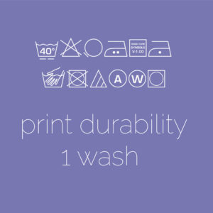 Print Durability  (1 Washes)