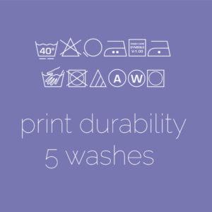 Print Durability  (5 Washes)