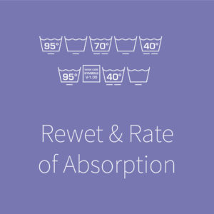 Rewet & Rate of Absorption