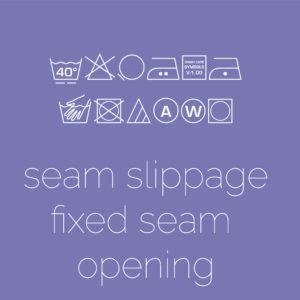 Seam Slippage – Fixed Seam Opening