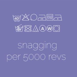 Snagging – per 5000 revs