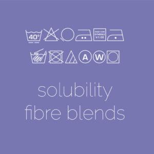 Solubility (Fibre Blends)