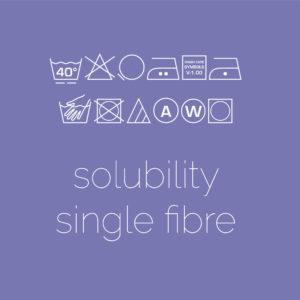 Solubility (Single Fibre)