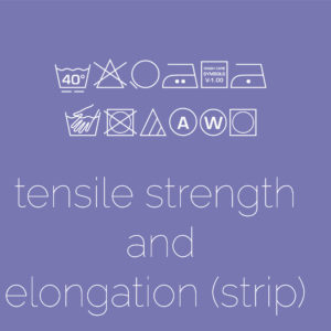 Tensile Strength & Elongation – Strip Method