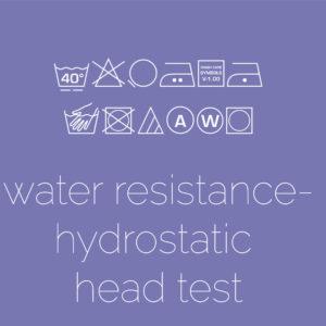 Water Resistance: Hydrostatic Head Test