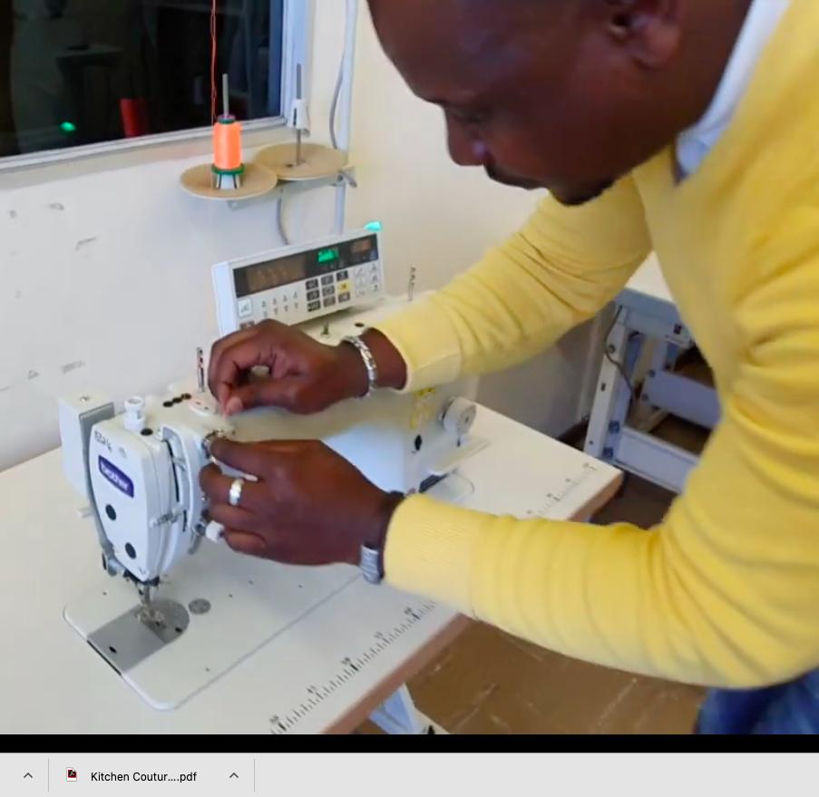 2. Threading your industrial plain machine (Xhosa)